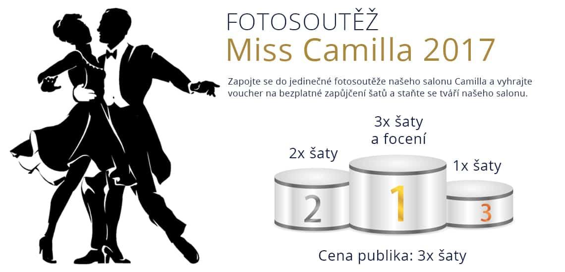 Vyhlašujeme fotosoutěž Miss Camilla 2017